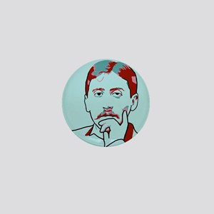 Marcel Proust Mini Button