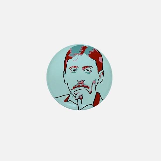 Marcel Proust Mini Button