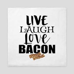 Love Bacon Queen Duvet