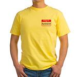 Hello I'm Available Yellow T-Shirt