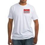 Hello I'm Available Fitted T-Shirt