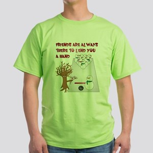 Snowman Bowl T-Shirt