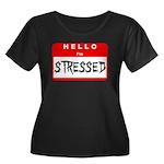 Hello I'm Stressed Women's Plus Size Scoop Neck Da