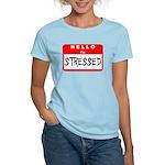 Hello I'm Stressed Women's Light T-Shirt