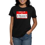 Hello I'm Stressed Women's Dark T-Shirt