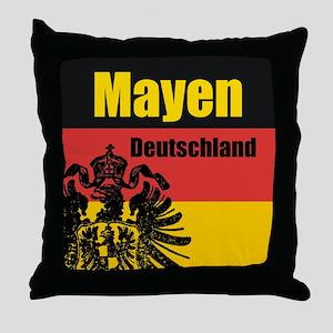 Mayen Deutschland Throw Pillow
