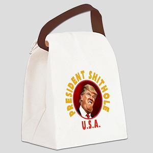 President Shithole Canvas Lunch Bag