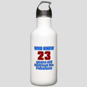 Who Knew 23 Years Old Stainless Water Bottle 1.0L