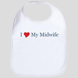 I Love My Midwife Bib