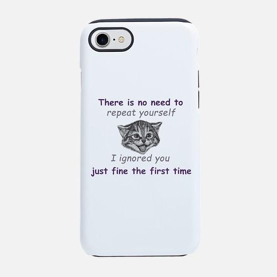 Ignoring You iPhone 8/7 Tough Case