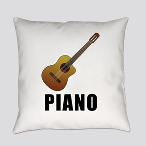 Piano (Guitar) Everyday Pillow