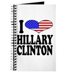 I Love Hillary Clinton Journal