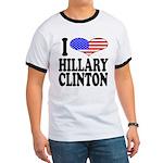 I Love Hillary Clinton Ringer T