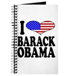 I Love Barack Obama Journal