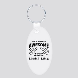 This is what an awesome Tap Aluminum Oval Keychain