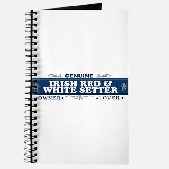 IRISH RED AND WHITE SETTER Journal