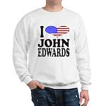 I Love John Edwards Sweatshirt