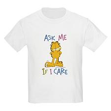 Ask Me If I Care Kids Light T-Shirt