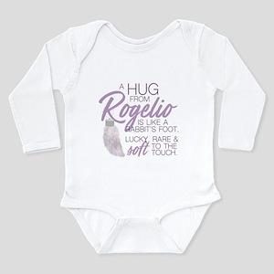 Rabbits Foot Long Sleeve Infant Bodysuit