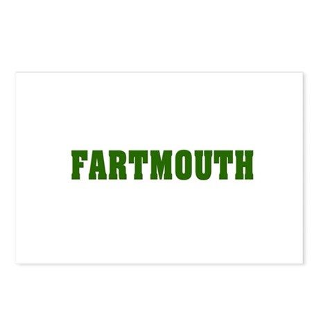 FARTMOUTH Postcards (Package of 8)