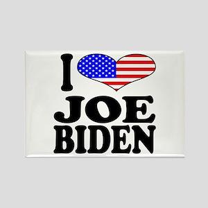 I Love Joe Biden Rectangle Magnet