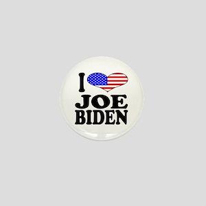 I Love Joe Biden Mini Button