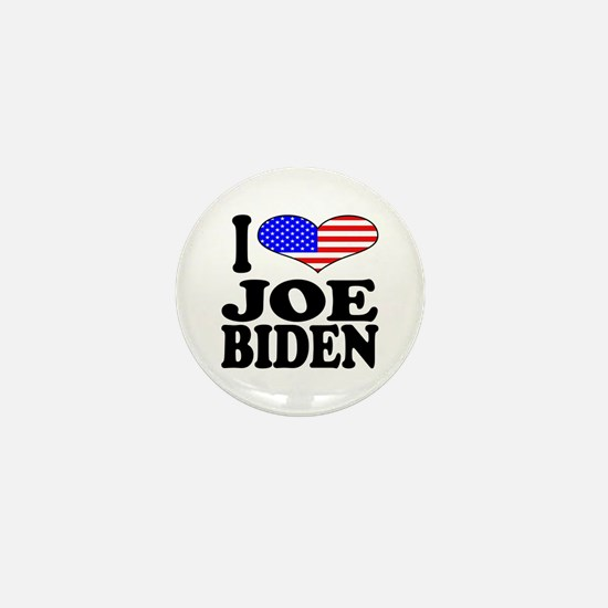 I Love Joe Biden Mini Button