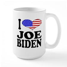 I Love Joe Biden 15 oz Ceramic Large Mug