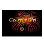 Hot Georgia Girl! Postcards (Package of 8)