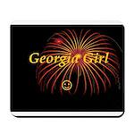 Hot Georgia Girl! Mousepad
