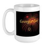 Hot Georgia Girl! Large Mug