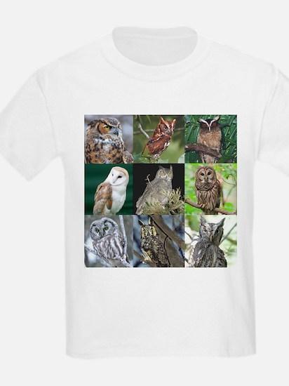 8Owls01 T-Shirt