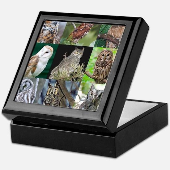 Funny Owl personalized Keepsake Box