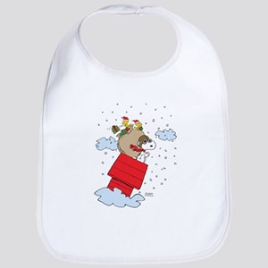 Flying Ace Santa Bib