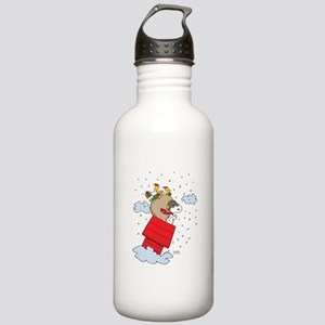 Flying Ace Santa Stainless Water Bottle 1.0L