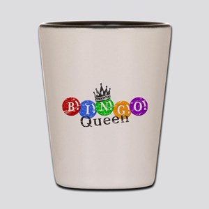 BINGO QUEEN Shot Glass