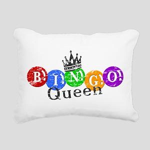 BINGO QUEEN Rectangular Canvas Pillow