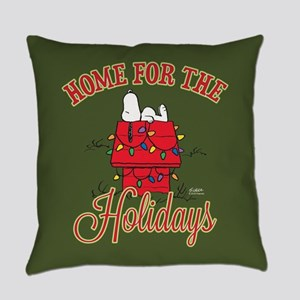 Home for the Holidays Everyday Pillow
