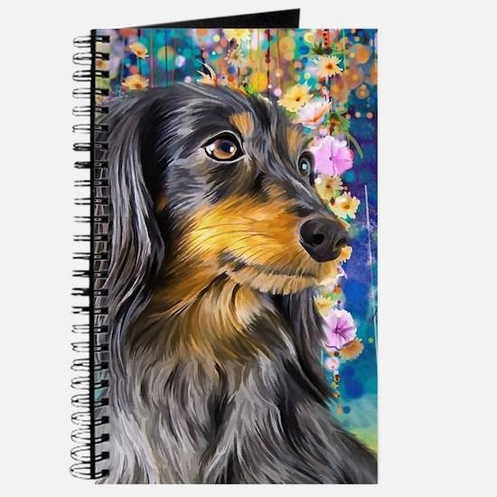 Dachshund Painting Journal