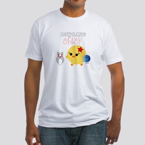 Bowling Chick Fitted T-Shirt