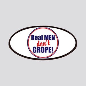 Real men don't grope Patch