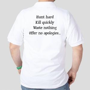 Hunt Hard Golf Shirt
