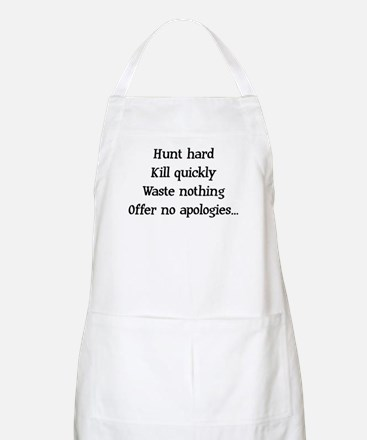 Hunt Hard BBQ Apron