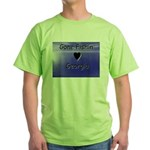 Gone Fishin in Georgia Green T-Shirt