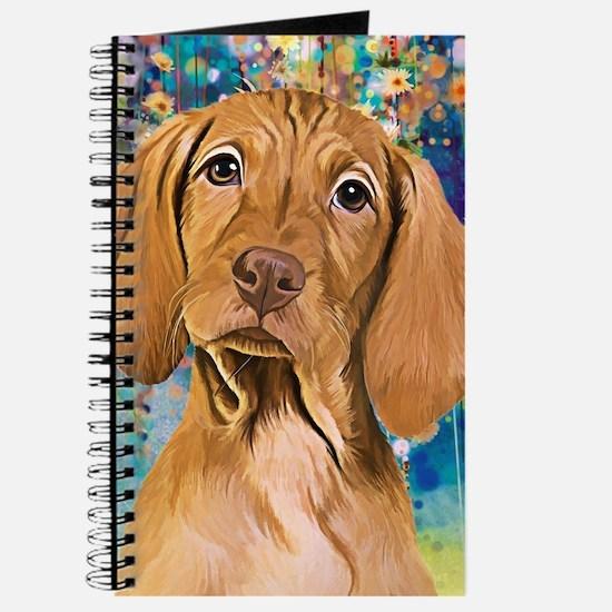 Vizsla Painting Journal