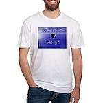 Gone Fishin in Georgia Fitted T-Shirt