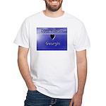 Gone Fishin in Georgia White T-Shirt