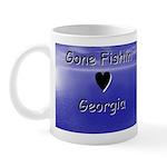 Gone Fishin in Georgia Mug