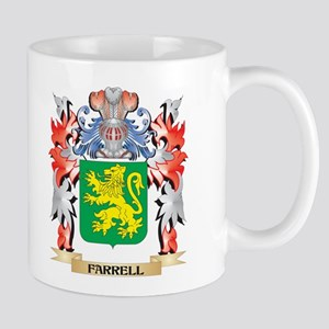Farrell Coat of Arms - Family Crest Mugs