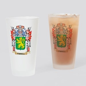 Farrell Coat of Arms - Family Crest Drinking Glass